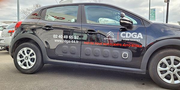 Véhicules de courtoisie pour Auto-École - CDGA Citroën Nantes