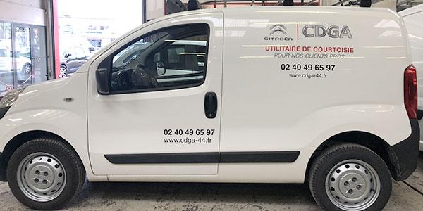 Utilitaire de courtoisie pour professionnel - CDGA Citroën Nantes